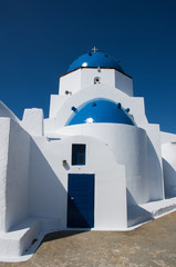White orthodox Greek church
