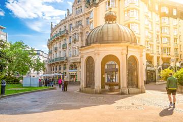 Pavillon historischer Kochbrunnen, Wiesbaden