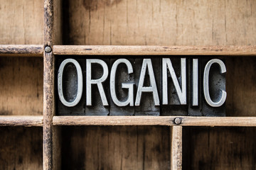 Organic Letterpress Type in Drawer Wall mural