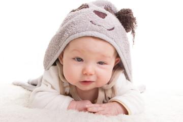 Baby beim Krabbeln