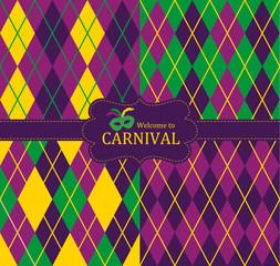 Carnival seamless pattern