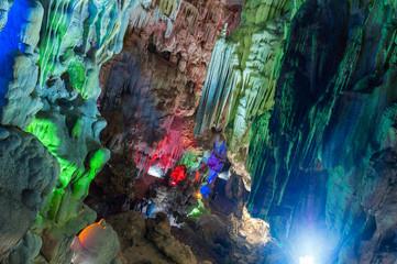 Cavern, Ha_Long Bay, Vietnam