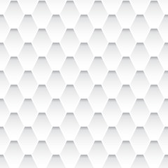 White seamless rhombus pattern