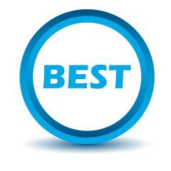 Blue best icon