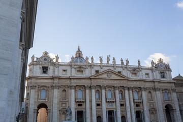 St. Peter's Basilica Facade - Rome