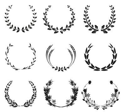 set of wreath