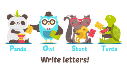 Write letters!