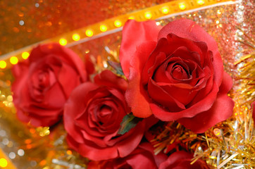 imitation roses