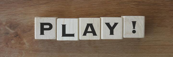 5 Wood Blocks - PLAY!