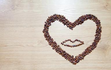 heart from cedar nuts