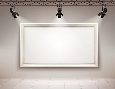 Picture Frame Illuminated