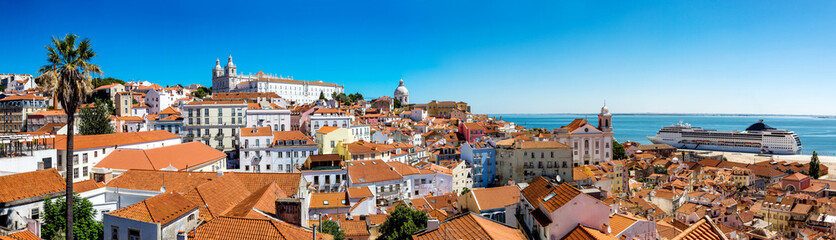 Wall Mural - Panorama of Lisbon