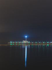 Lighthouse on the Boulevard in Baku