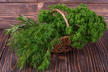 dill, parsley