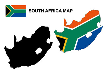 south africa map logo