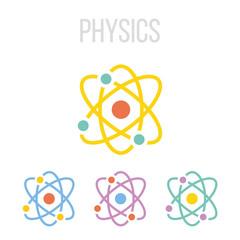 Vector atom icons