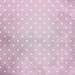 Grunge Dots Background lila pink