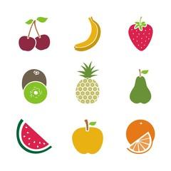 Iconos Frutas COLOR