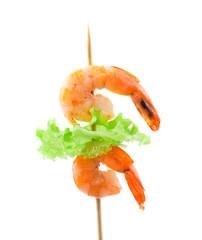 shrimps on a sticks