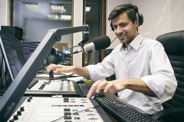 MC hosts the entertaining program on radio