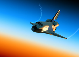 Wall Mural - Space Shuttle Landing