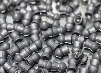 Pile lead pellets for air rifle, diabolo pellets