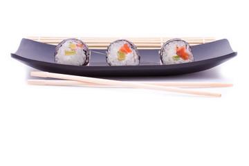 Sushi su barchetta