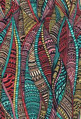 Zebtabgle seamless pattern