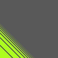 Moderner grauer  Hintergrund mit diagonalen grünen Strichen
