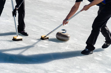 Giocatori di Curling