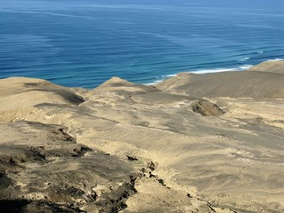 The Jandia nature park on Fuerteventura in Spain