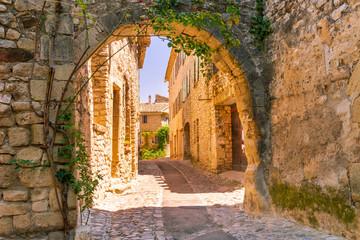 Fototapeta Old town in provence