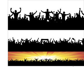 Banners for sporting events and concerts