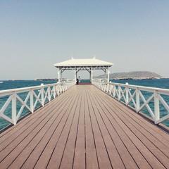 Asdang bridge, kho Si Chang, Chonburi, Thailand