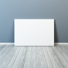blank picture in the room