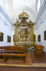 Mother Church of Laterza. Puglia. Italy.