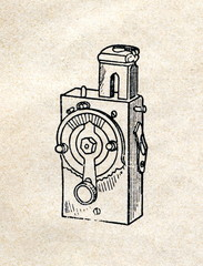 Mountable photographic self timer
