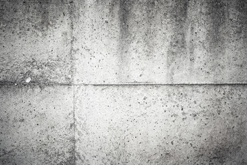 Old dark gray concrete wall background texture