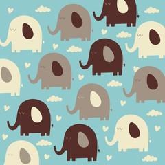 elephant background design
