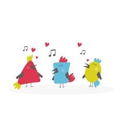 happy birds song