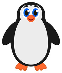 a single penguin