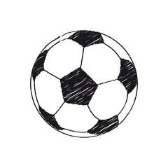Pallone da Calcio scarabocchio