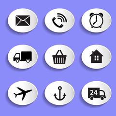 Набор векторных иконок