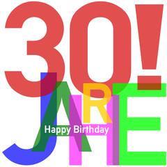 Geburtstag Happy Birthday  #150219-05