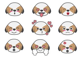 Tsi zhu cartoon emotion03