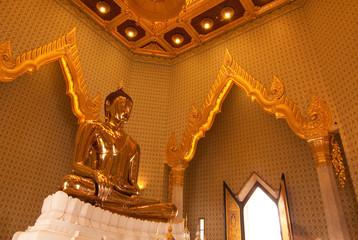 Golden buddha icon