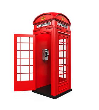 British Red Telephone Booth