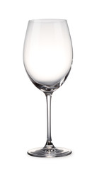 Empty Wineglass with clipping path