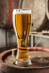 Single Beer Glass