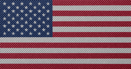 American fabric flags
